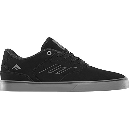 Emerica Herren Skateschuh The Reynolds Low VULC Black/Grey