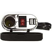 Impermeabile moto mobile phone GPS sistema doppia uscita USB adattatore