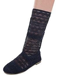 Cingant Woman Damen High Heel Stiefeletten - Blue Blau, EU 41