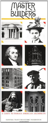Master Builders: A Guide to Famous American Architects (Building Watchers Series) Chippendale Serie
