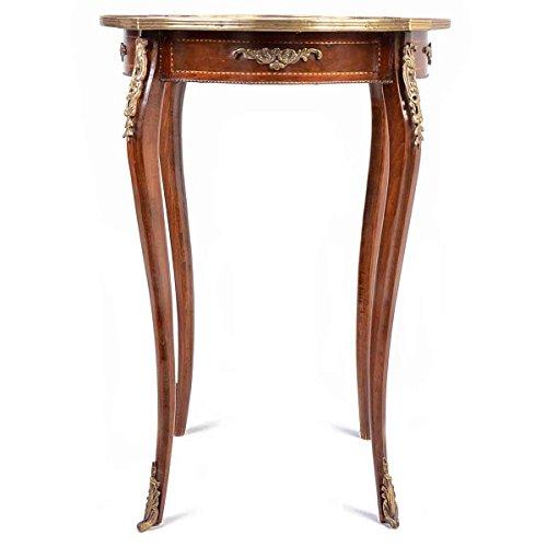 mousasgallery Table – Style Antique | Baroque | Lauscha | Louis XV/XVI | Classique | fabriqué à la Main | Bois Massif