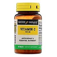 Vitamin C, 500 mg, 100 Tablets