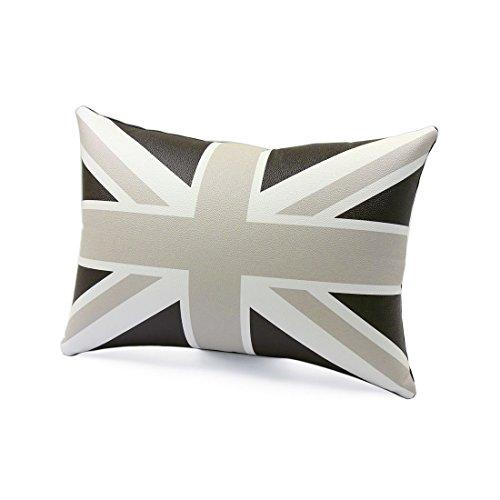 Preisvergleich Produktbild Union Jack Flagge Print Überwurf Kissenbezug, 40cm x 28cm x 12cm