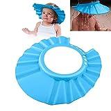Baby Badekappe Bade Schutz Kopf Dusche Wasser Abdeckung einstellbar für 0-9 Jahre 'Kids für Babypflege (1 Pack, blau)