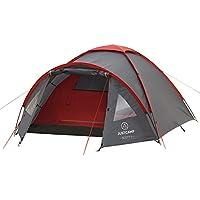 Justcamp Scott 3 Tente de Camping 3 places, Tentes Dôme (300 x 200 x 120 cm)
