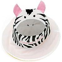 Flapjacks 2in1reversibile per bambini estate hats-zebra/giraffe-medium