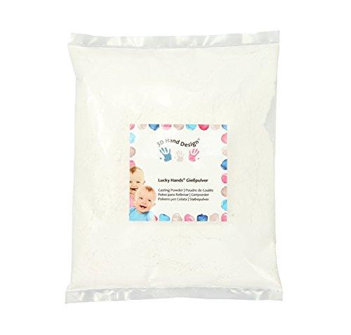 Lucky Hands® Polvo para Rellenar/de Collada - yeso cerámico (1000 g)