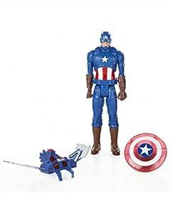 Hasbro B0435EU4 - Avengers Titan héroe Light Up Batalla Altura - Surtido