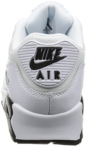Nike Damen Wmns Air Max 90 Sneakers, Elfenbein (White/White/Wolf Grey/Black), 40 EU - 2