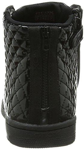 Geox Jr Creamy, Scarpe da ginnastica Bambina Nero  (Noir (Black))