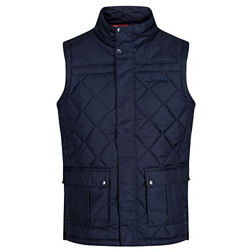 41uO3BEyaDL. SS500  - Regatta Men's Lachlan Water Repellent and Insulated Quilted Bodywarmer Gilet Jacket
