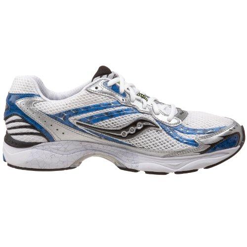 Saucony chaussures de course grid tangent 4–blanc - Weiß/Blau/Schwarz