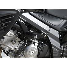 R & G AERO Crash Protectores En Negro Para Suzuki DL650 V STROM