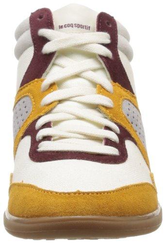 Le Coq Sportif Monge Heavy Cvs Damen Sneaker Beige - Beige (Chaux/Retro Bordeaux)