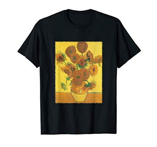 Vase mit 15 Sonnenblumen durch Vincent van Gogh T-Shirt -