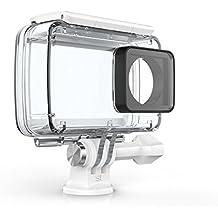 YI Carcasa Resistente al agua para 4K Acción Cámara (oficial accesorios), color blanco