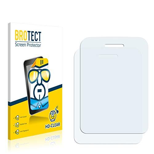 BROTECT Schutzfolie kompatibel mit Wiko Lubi 3 [2er Pack] - klarer Bildschirmschutz