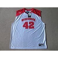 wiscinsin tejones NCAA Baloncesto # 42 Jersey Chaleco Camiseta – Mens ...