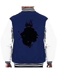 Kaneki Paint Splatter Tokyo Ghoul Men's Varsity Jacket