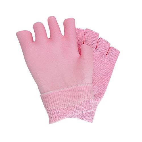 Everpert 1 Paar feuchtigkeitsspendende Whitening Peeling Ätherisches Öl SPA Gel Half Gloves