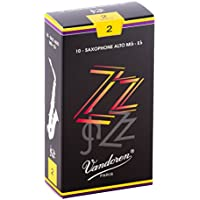Vandoren SR412 ZZ Alt Saxophon Blätter - 10 Einheiten