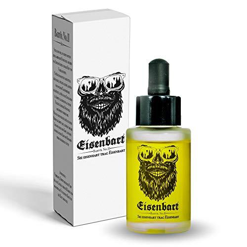 Eisenbart Bartöl No.II 30 ml Premium Bartpflege mit Marula Öl/Citrus + Vanille