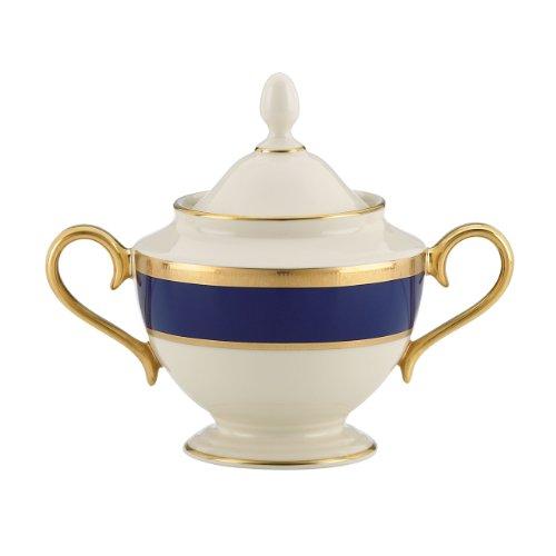 Lenox Independence Platzset, 5-teilig Lenox, Unabhängigkeit, feines Service Sugar Bowl elfenbeinfarben Fine China Sugar Bowl