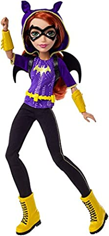 Mattel DLT64 - DC Super Hero Girls Batgirl Puppe