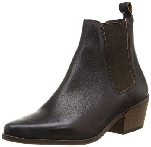Buffalo London 2308 VEGAS, Damen Chelsea Boots - Braun (TESTA 03), 39 EU (6 Damen UK) (Buffalo Leder Cowboy-stiefel)