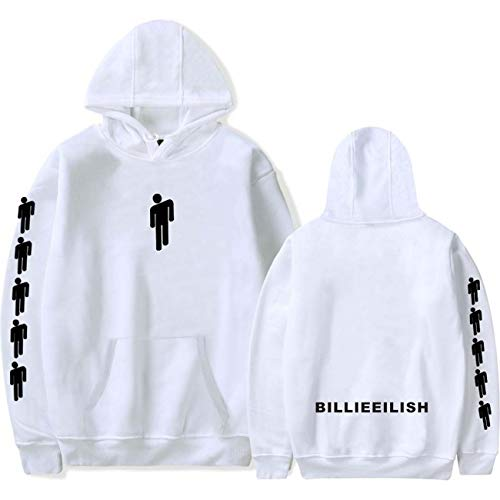 ZIGJOY Unisex Pirate Baird O'Connell When We All Fall Asleep Where Do We Go Hoddie Freizeitkleidung Sweatshirt Kapuzenpullover mit Tasche für Fans 13085 White S