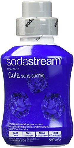 Sodastream Concentré Sirop Cola sans Sucres 500 ml