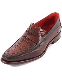 8c30266c99 Jeffery West Men s JB37 Twin Seam Leather Chukka Boot College Honey