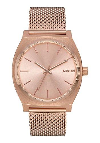 Nixon orologio analogico quarzo unisex con cinturino in acciaio inox a1187-897-00