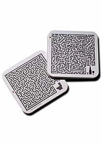Bierdeckel bedruckt - Labyrinth