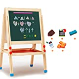 HAOCHIDIAN Tableau de Dessin magnétique effaçable Petit Tableau Noir bébé Maison...