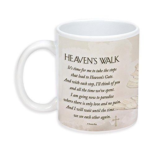 Heaven 's Walk Gedicht Trauer 11Oz Keramik Steingut Kaffee Tasse (Starbuck-kaffee-geschenk-korb)