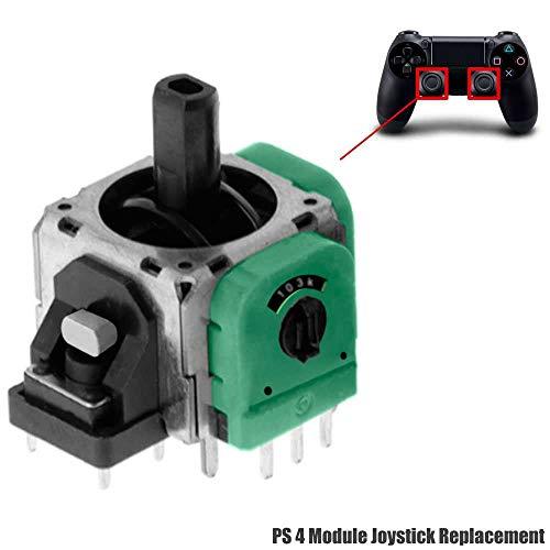 Modulo de recambio interno para las palancas R3 / L3 (joystick izquierdo / derecho).   Para cambiar esta pieza en su mando necesita unos conocimientos mínimos y herramientas adicionales.   Este modulo es compatible con el mando de Playstation 4.  ...