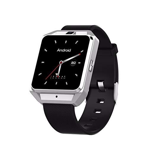 Happysdh Smart Armband Bluetooth Fitness-Tracker 4G SOS Intelligente Uhr Herzfrequenz-Überwachung Schlafüberwachung Informationen erhalten wasserdicht Kompatibel mit Android (Cdma-gsm-android)