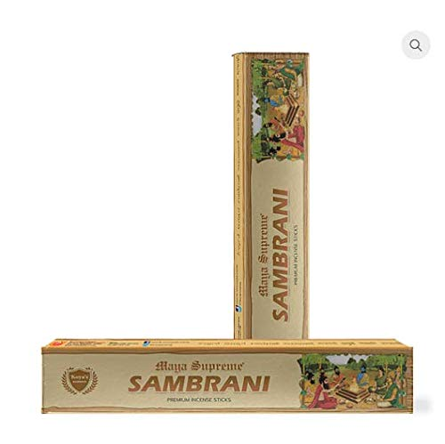 koya's Sambrani Premium India Temple Incense Sticks/Natural Fragrance 115gm - Choose The Scent and Use It at Home or Workplace