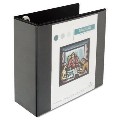 Universal UNV30755 Polypropylene (PP) Noir classeur à anneaux - classeurs à anneaux (Rangement, Polypropylène (PP), Noir, Letter, 1050 feuilles, 12,7 cm)