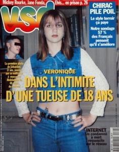 VSD N? 968 du 14-03-1996 veronique , dans l'intimite d'une tueuse de 18 ans - sebastien 17 ans, pousse par sa maitresse a massacrer abdeladhim - internet, un condamne a mort ressuscite sur le reseau -chirac pile poil - le style terroir ca paye mickey rourke, jane fonda, elvis en priso