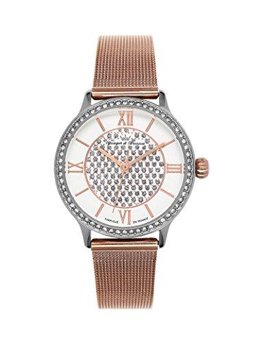 Reloj mujer Yonger & Bresson blanca y rosa dorada–DCC 096s-2fm