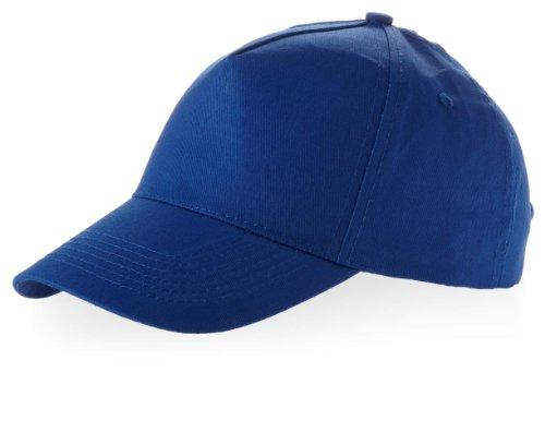 Baseball Cap 'Euro' 100% Baumwolle im 13 Farben, Königsblau, One Size up to 59cm (Kleiner Junge Aus Up Kostüm)