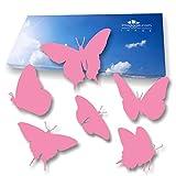 imaggge.com Autocollants Anti-Collision pour Portes vitrées (18 Papillons) - Evitent...