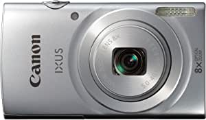 """Canon Ixus 145 Appareil photo numérique compact 16 Mpix Écran LCD 2,7"""" Zoom optique 8X Argent"""