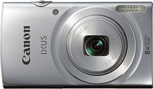 Canon IXUS 145 Digitalkamera (16 Megapixel, 8-fach opt. Zoom, 6,8 cm (2,7 Zoll) LCD-Display, HD-Ready) silber