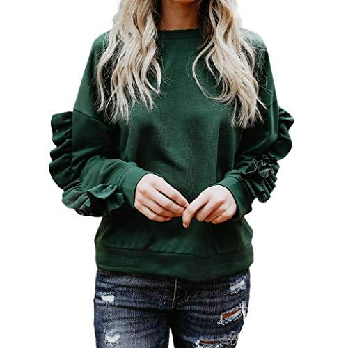 TWIFER Women Shirt Tee Top Blouse Girl Cute Fall Autumn Pullover Long Sleeve Sweatshirt Ball Football Basketball Knitwear