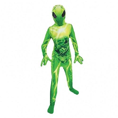 Abendkleid - extraterrestrische Kostüm - BOYS AGE 8-10 (Kinder Alien Kostüm)