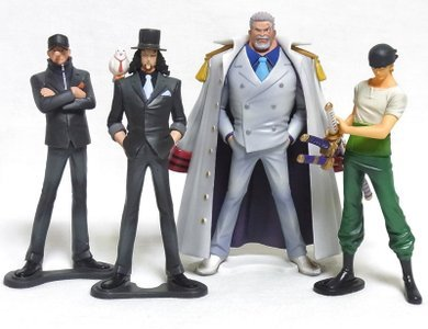 One Piece High Spec Coloring Figure 5 all four (Roronoa