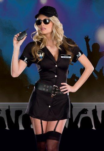 Gorgeous Game Party Kleider Polizistin Uniform spielt reizvolles Kleid -reizvolle Wäsche der konstanten Versuchung Rolle (Gorgeous Kleider Party)